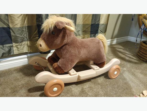 Riding and Rocking Horse