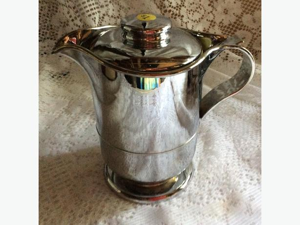 Chrome look water carafe for sale