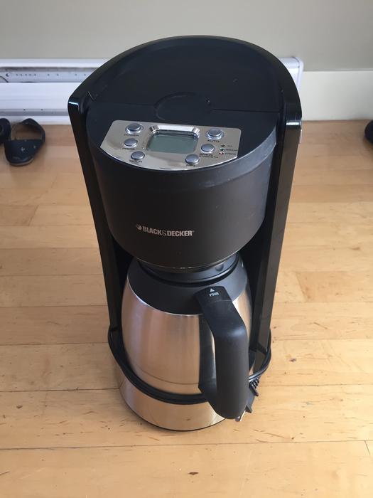 Black And Decker Coffee Maker Spring : Black & Decker Coffee maker Saanich, Victoria
