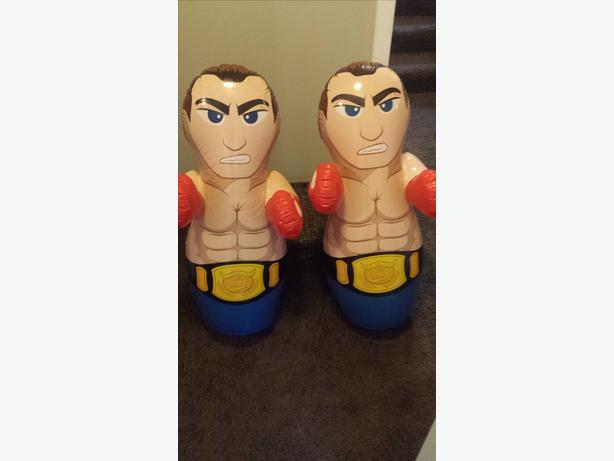 Standing Punching Bags!