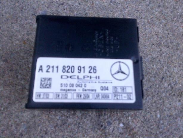 1990-2011 MERCEDES R230 SL65 W203 ANTI-THEFT CONTROL MODULE A2118209126
