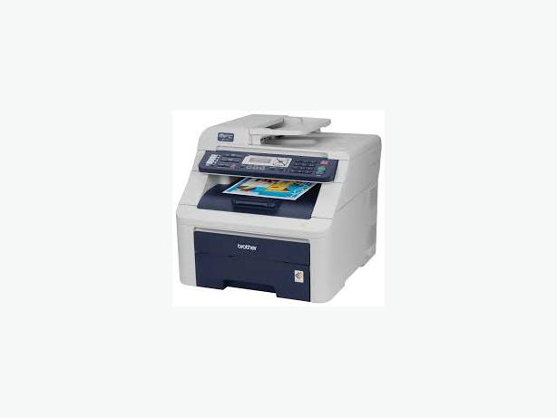BROTHER MFC-9120CN - FAX, SCANNER, COPIER, PHONE AS IS, USED
