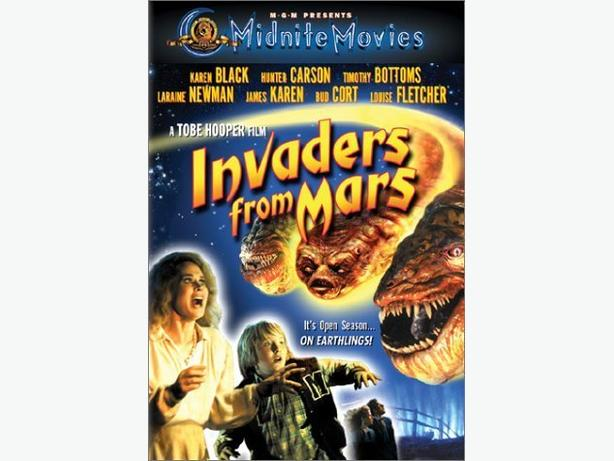 Invaders from Mars DVD