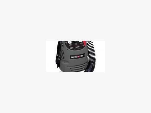 Air compressor 100 psi. Used, hose including