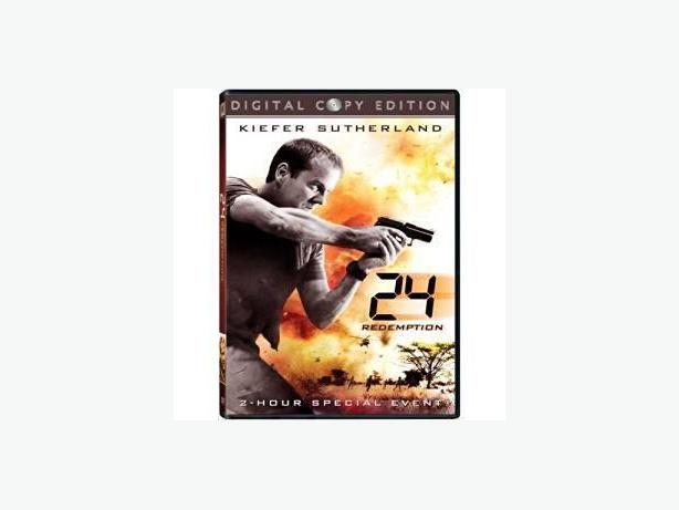 24 Redemption DVD