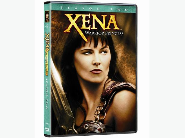 Xena: Warrior Princess Season 2 DVD