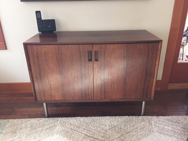 Mid Century Modern Credenza, Rosewood