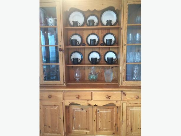 Large buffet and hutch for sale