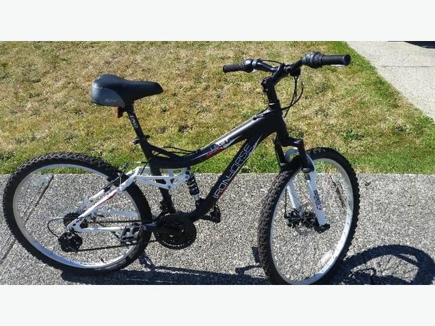 "24"" mountain bike w / shimano shifters new condition"