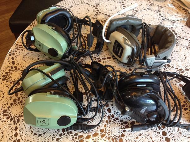 2 David Clark H 10-80 Headsets