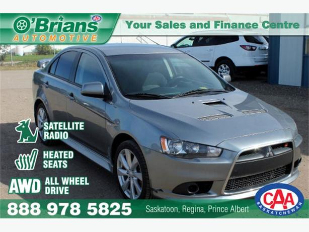 2014 Mitsubishi Lancer Ralliart - AWD HTD SEATS