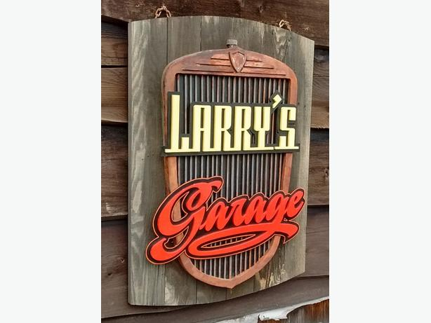 Retro and Vintage Style Garage Decor OUTSIDE GREATER