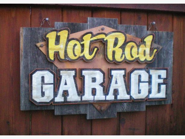 Retro and Vintage Style Garage Decor