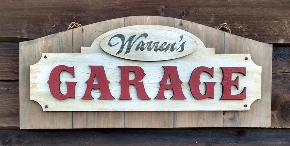 Retro And Vintage Style Garage Decor Outside Winnipeg