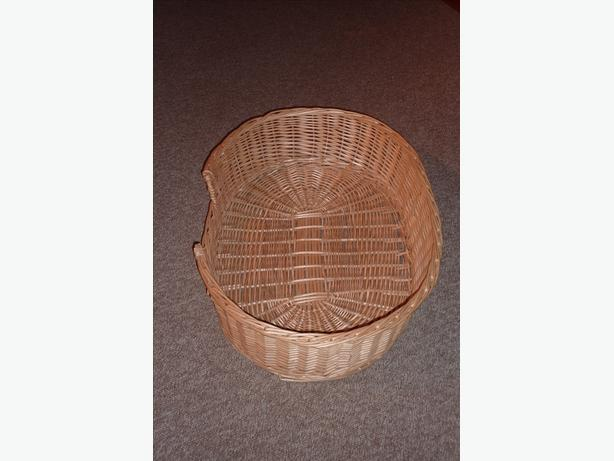 Dog Wicker Basket