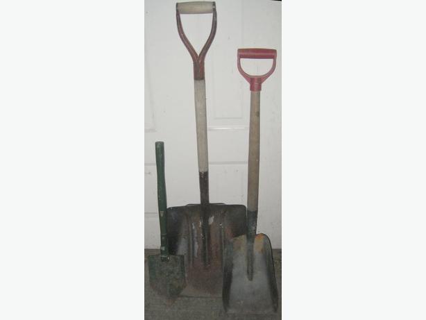 2 shovels
