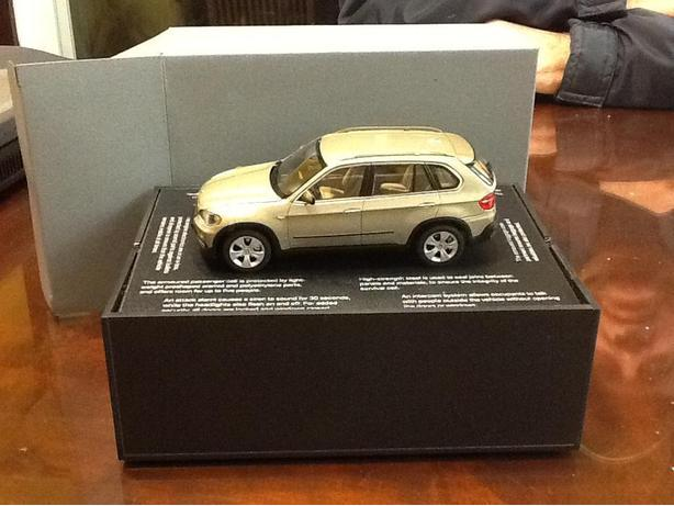 2011 BMW X5 SECURITY MODEL CAR