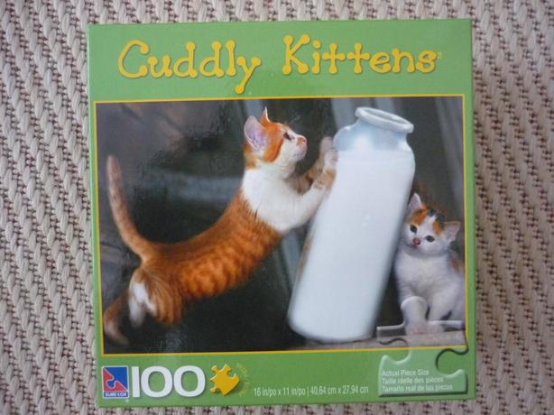 100 Piece Puzzle - Cuddly Kittens