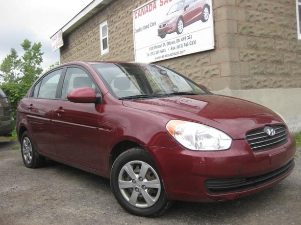 2009 Hyundai Accent Auto/AC , 112km, 12M.WRTY+SAFETY $5490