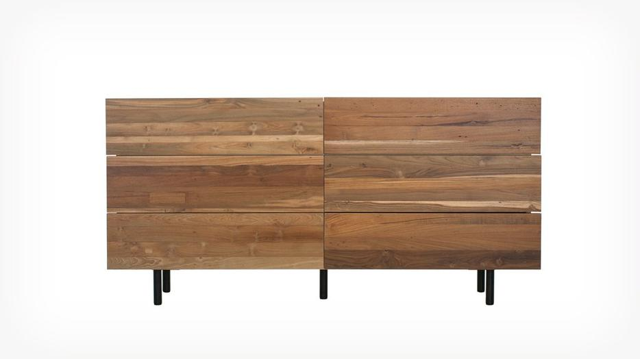New bedroom set from urbane eq3 recycled teak central for Q furniture abbotsford