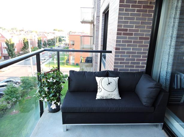 Updated price!! - Garden sofa + Ottoman for balcony/terrasse new in the box