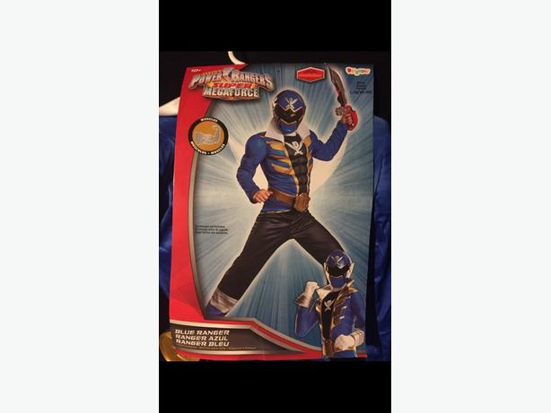 blue power rangers costume