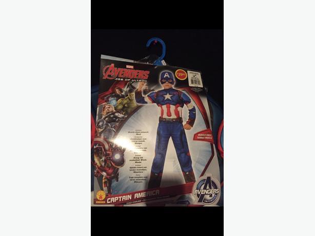 captain america avengers costume