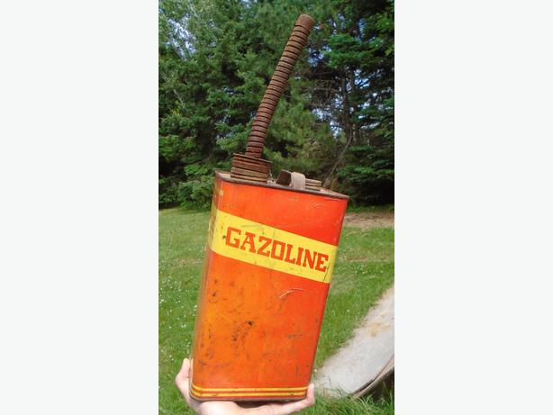 Vintage Gasoline Imperial Gallon Can Johnson Rose Co. Inc.