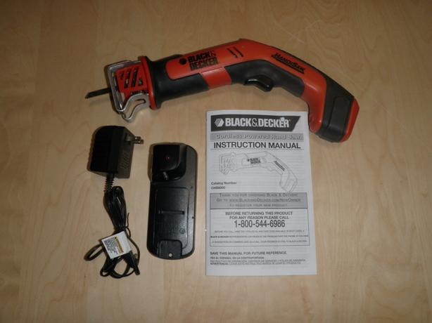 Black & Decker Cordless HandiSaw - Excellent Condition