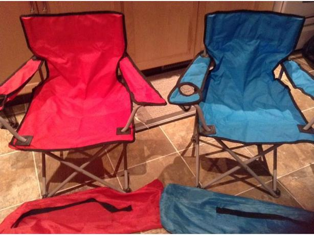 Kids Camping Chair (red still available)