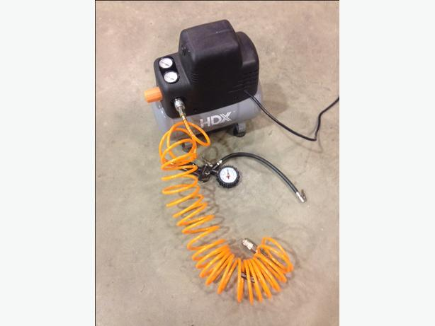 HDX 2 Gallon Portable Air Compressor