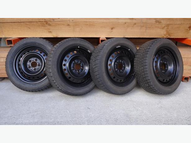 michelin winter tires on rims 205 55r16 96 tread. Black Bedroom Furniture Sets. Home Design Ideas