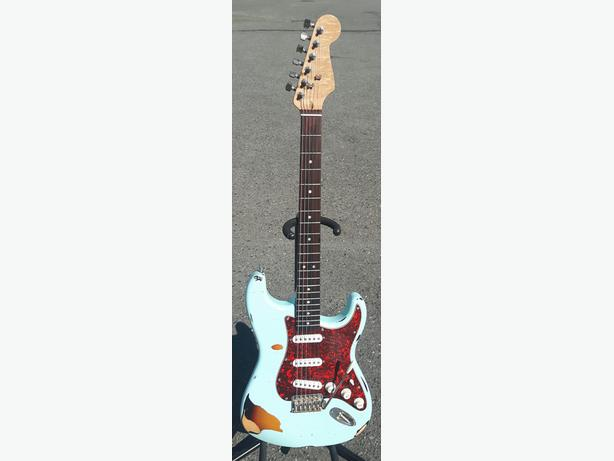 Relic Partscaster Strat (Price Lowered)