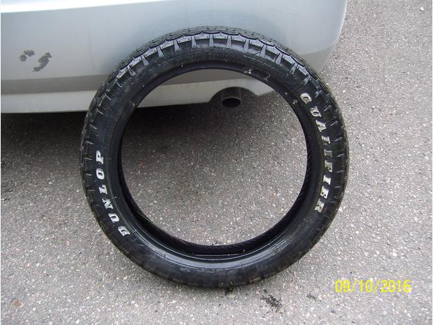 Motorcycle tire Bridgestone Qualifier 110/90-18 excellent front tire