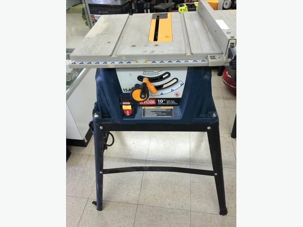 Ryobi 10 table saw stand central nanaimo nanaimo for 99 table saw