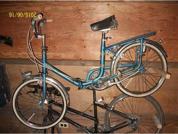 Classic French 3-speed Folding Bike