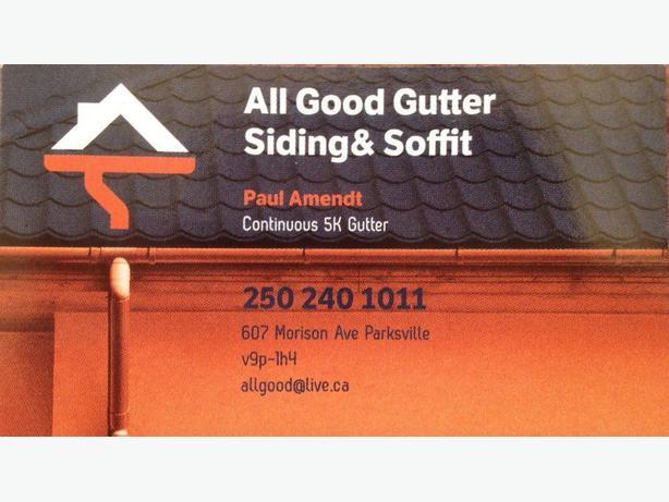 gutters/soffit/siding