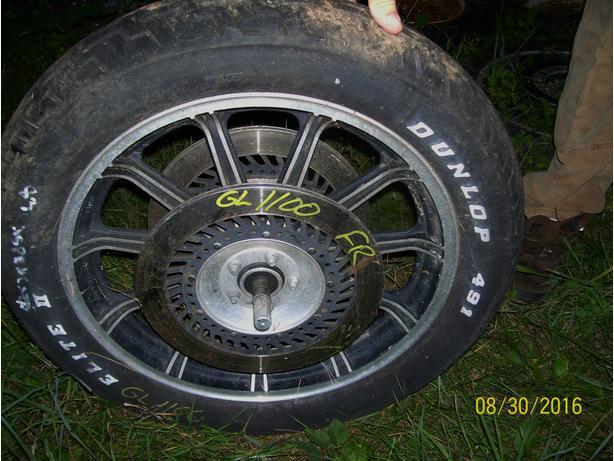 Honda Goldwing 1100 GL1100 front wheel front rim brake rotor disc