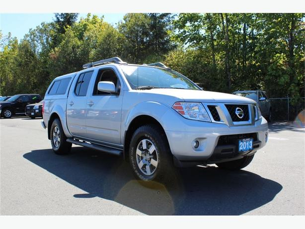 2013 nissan frontier 1 owner pro 4x outside nanaimo nanaimo mobile. Black Bedroom Furniture Sets. Home Design Ideas