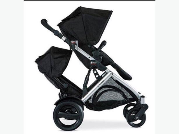 britax b ready double stroller great condition kanata ottawa. Black Bedroom Furniture Sets. Home Design Ideas