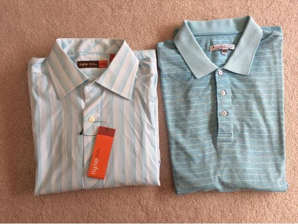 2 New Men's Medium Shirts