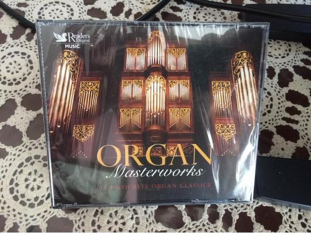 New 3-CD Organ Masterworks