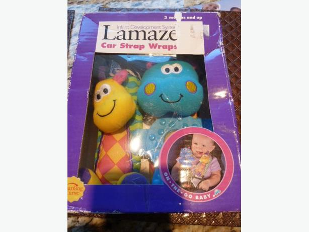 LAMAZE Car Strap Wraps NEW