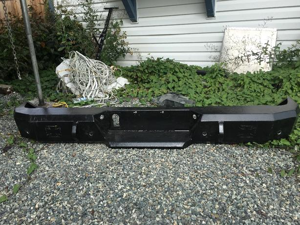 Iron cross bumper