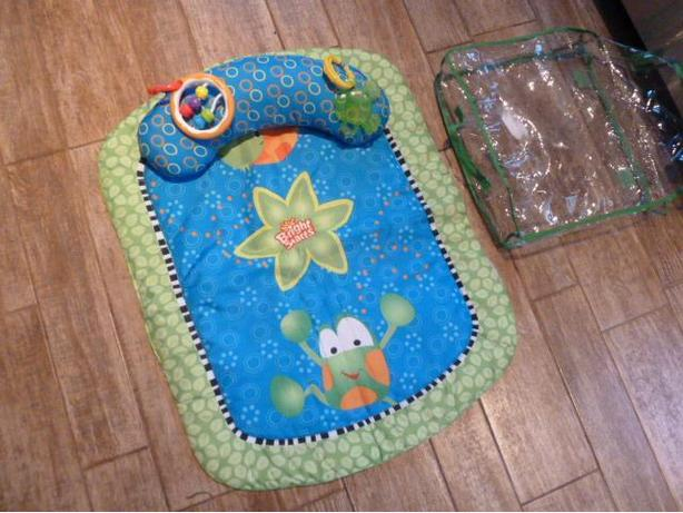 Bright Starts Tiny Turtle & Friends Prop & Tummy Play Mat