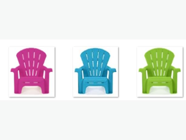 4 Brand New Little Tikes Adirondack Chairs Pink Blue Green - $4 each