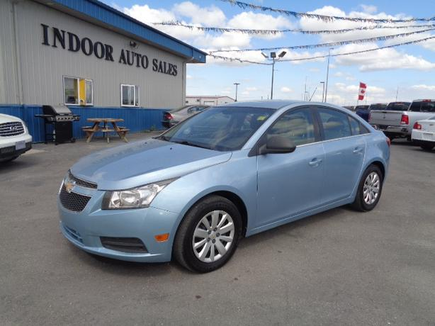 2011 Chevrolet Cruze LS #I5245 INDOOR AUTO SALES WINNIPEG