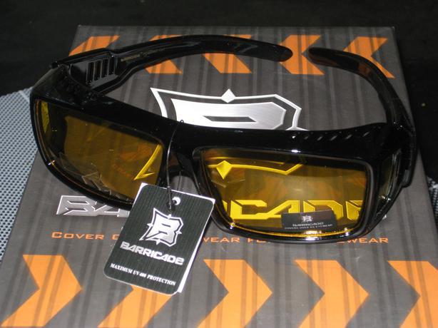 NEW: Polarized cover over sunglasses.