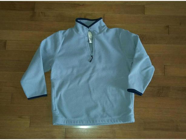 Boys Fleece 1/4 zip, size 7/8