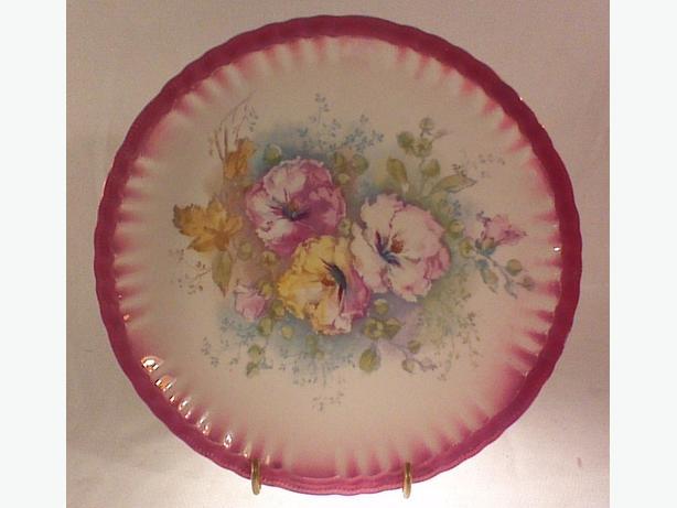 Franz Mehlem porcelain plate